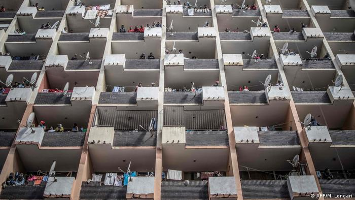 An residential apartment building (AFP/M. Longari)