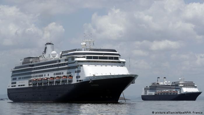 Vier Tote auf Kreuzfahrtschiff vor Panama