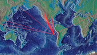Tsunami Warnung Pazifik