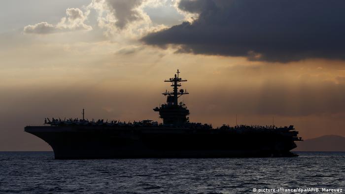 Der US-Flugzeugträger USS Theodore Roosevelt (Foto: picture-alliance/dpa/AP/B. Marquez)