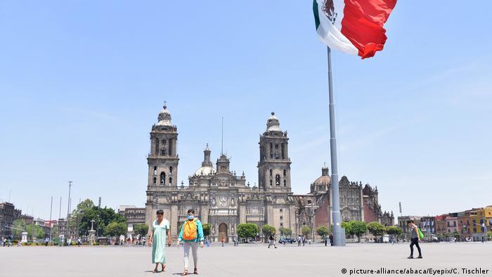 Coronavirus Mexiko City