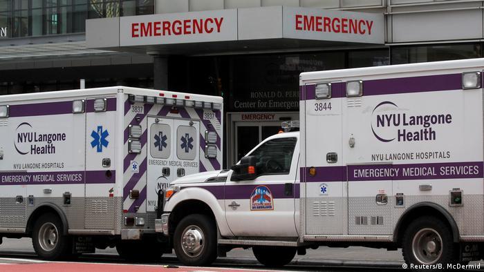 Машины скорой помощи в Нью-Йорке