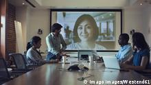 Symbolbild - Videokonferenz