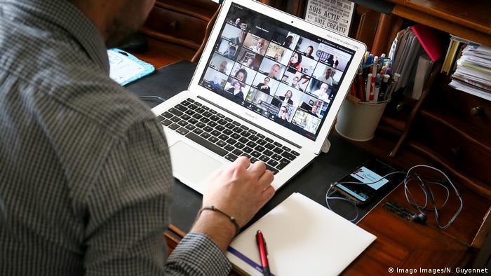 Video-konferencija iz kućnog ureda
