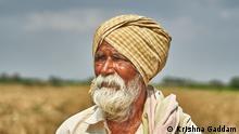 Indien Landwirtschaft | alter Mann in Andhra Pradesh