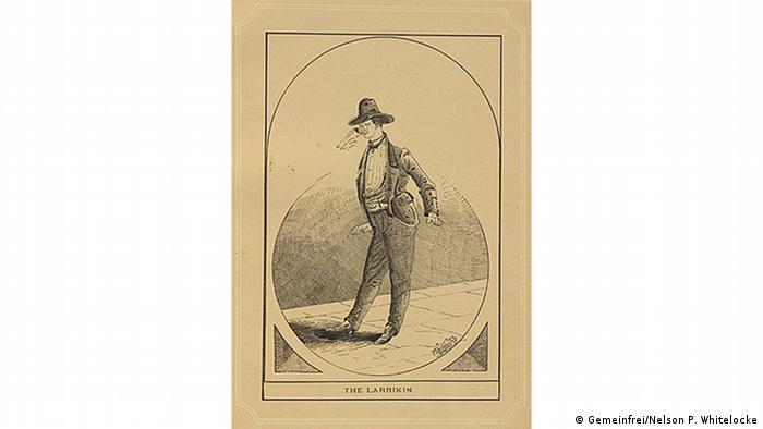 Illustration The larrikin