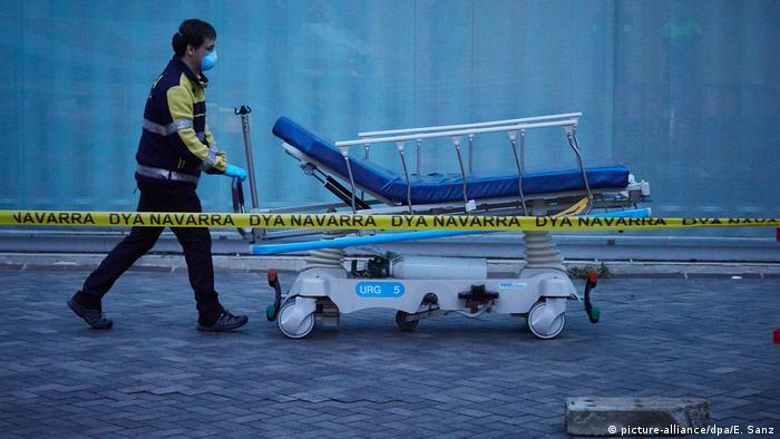 Spanien Corona-Pandemie (picture-alliance/dpa/E. Sanz)
