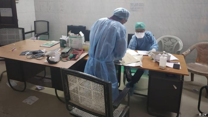 Testing for the coronavirus in Bihar is low, creating pressure on doctors, who may be dealing with coronavirus patients who have not yet been diagnosed