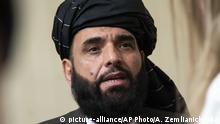 Russland Moskau | Sprecher der Taliban: Suhail Shaheen