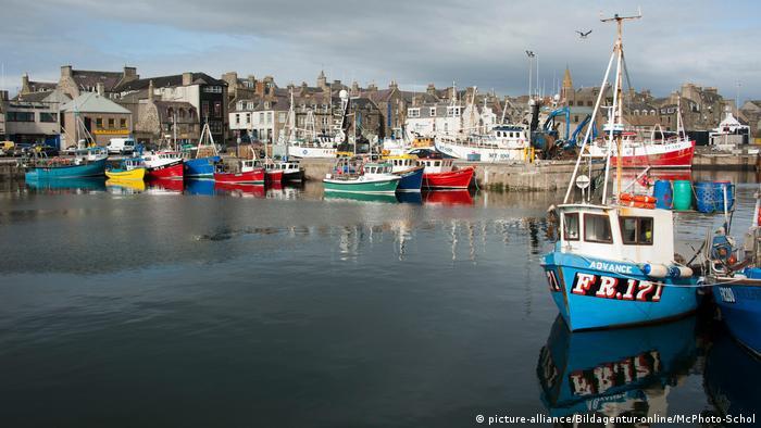 Schottland - Hafen von Fraserburgh (picture-alliance/Bildagentur-online/McPhoto-Schol)