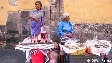 Mexiko Straßenverkäufer stehen vor dem Nichts   Nora