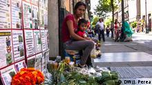 Mexiko Straßenverkäufer stehen vor dem Nichts | Sarai
