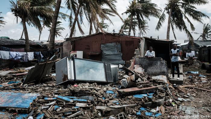 Mosambik Beira nach dem Zyklon Idai