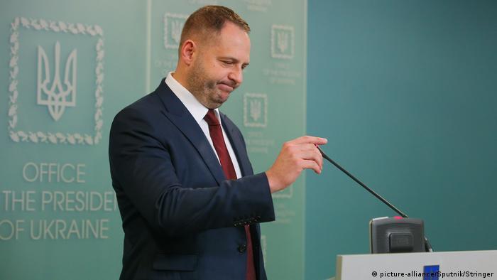 Голова Офісу президента України Андрій Єрмак