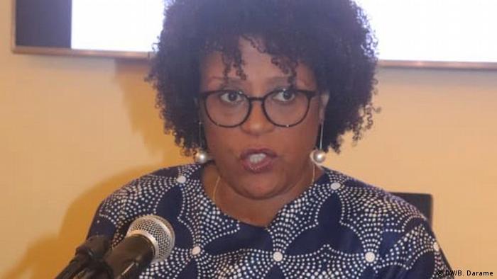 Guinea-Bissau Ruth Monteiro (DW/B. Darame)