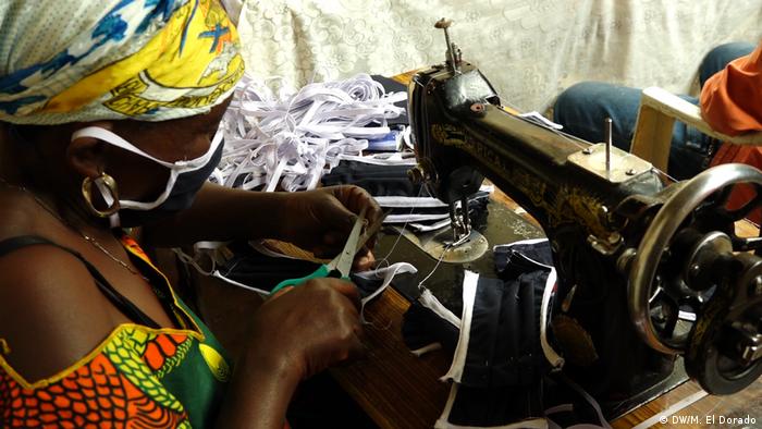 Coronavirus: Des masques en tissus produits dans le Sud-Kivu