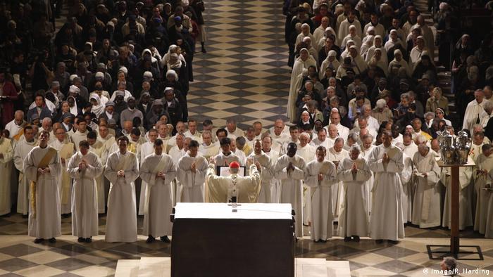 Gottesdienst in Notre Dame