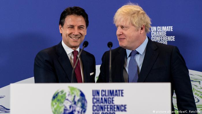Vor dem Klimagipfel «COP26» (picture-alliance/dpa/C. Ratcliffe)