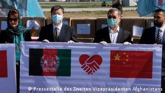 新冠疫情爆发后,中国积极向阿富汗提供防疫物资