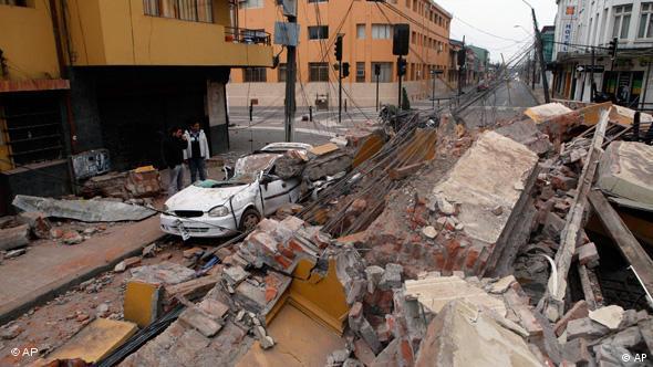 Erdbeben in Chile 2010 Flash-Galerie