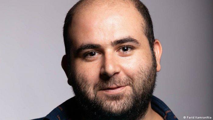 Verfolgte Journalisten One Free Press Coalition Mohammad Mosaed Iran (Farid KamranNia)