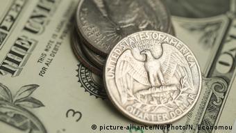 USA Amerikanischer Dollar (picture-alliance/NurPhoto/N. Economou)