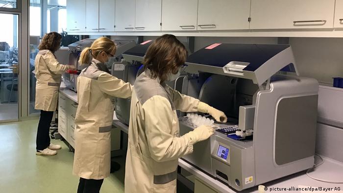 Coronavirus - Berlin - Bayer will Testlabor in Berlin aufbauen (picture-alliance/dpa/Bayer AG)