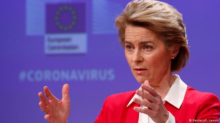 EU Ursula von der Leyen (Reuters/F. Lenoir)