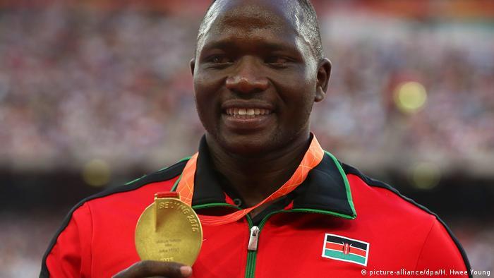 Julius Yego IAAF China Peking 2015 (picture-alliance/dpa/H. Hwee Young)