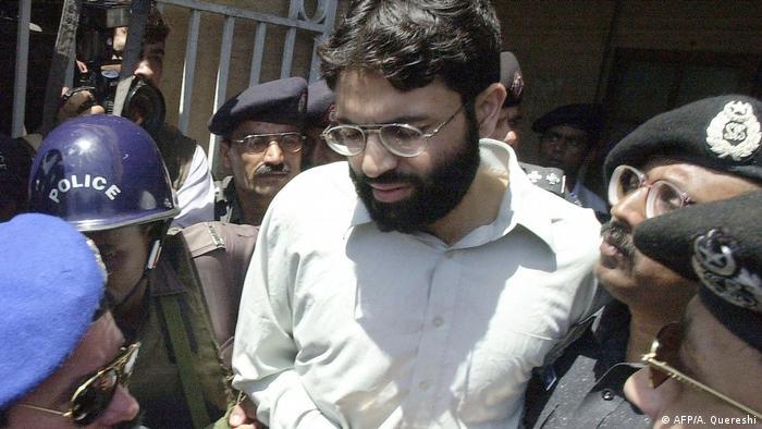 Ahmed Omar Said Scheich bei seiner Verhaftung im März 2002 in Pakistan