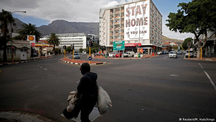 South Africa's Cape Town Stay Home if you can Coronavirus
