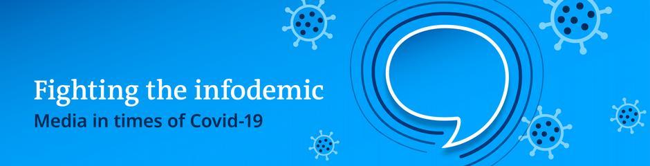 DW Akademie Banner Infodemic