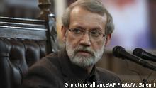 Iran Teheran Ali Larijani