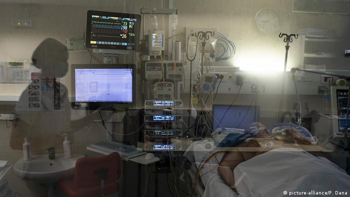 بیمارستانهای اسپانیا با فشاری روزافزون روبرو هستند
