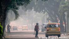 Luftverschmutzung in Cucuta
