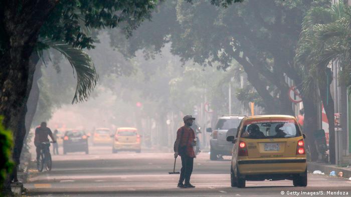 Foto de contaminación ambiental en Cúcuta
