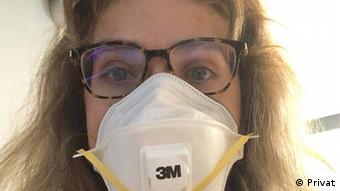 Д-р Манева с маска