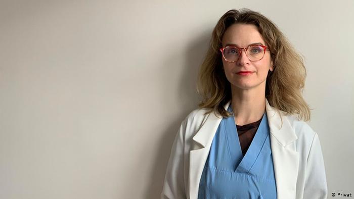 Д-р Славина Манева, радиолог в Мадрид