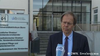 Профессор Вольфганг Хольцгреве, главный врач Университетский клиники Бонна