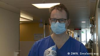 Доктор Матиас Коханек, глава отделения внутренней медицины Университетской клиники Кельна