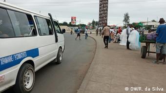 Mosambik Covid-19 und der informelle Handel in Maputo