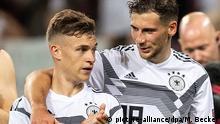 Deutschland Joshua Kimmich und Leon Goretzka