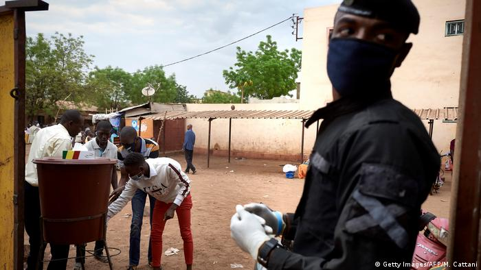 Mali Wahl 2020 (Getty Images/AFP/M. Cattani)
