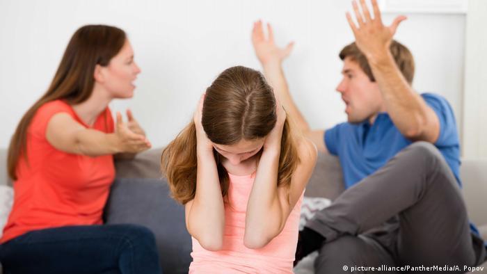 Ругаются родители - страдает ребенок