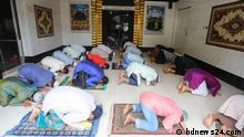 Bangladesch Freitagsgebet in Dhaka