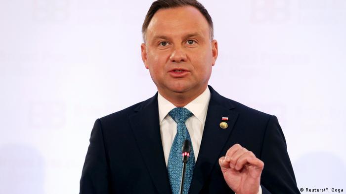 Andrzej Duda polnischer Präsident (Reuters/F. Goga)