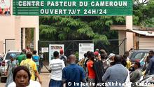 At the Centre Pasteur in Cameroon, where people can get tested for COVID-19