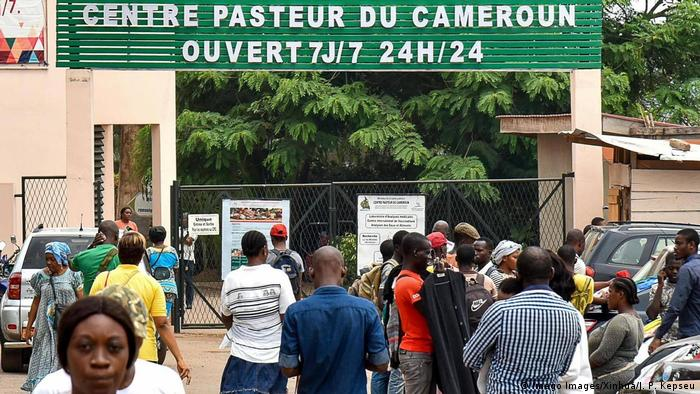 The Centre Pasteur in Yaunde's capital Cameroon (Imago Images/Xinhua/J. P. Kepseu)