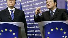 Belgien EU Ukraine Viktor Janukowitsch bei Jose Manuel Barroso