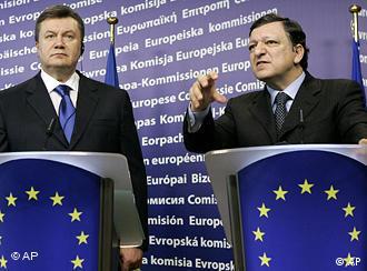 Президент України Янукович і президент Єврокомісії Баррозу, 2010 рік